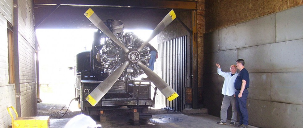 Curtiss-Wright Radial Engine News