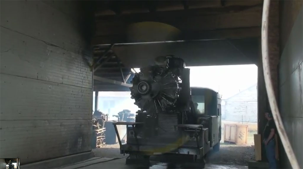 R-2800 Engine Starting and Running on 100SF